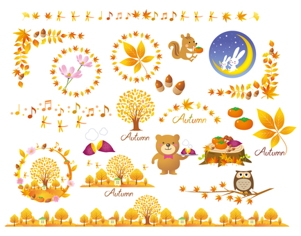 Autumn item set