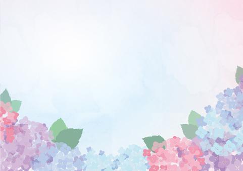 Hydrangea frame 3