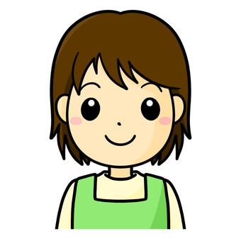 보육사 미소