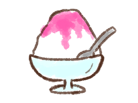 Crayon Series [Shaving Ice / Strawberry]