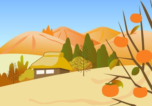 秋の風景〜里の秋〜