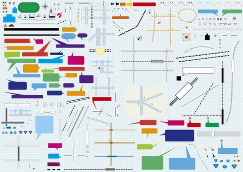 Map map material