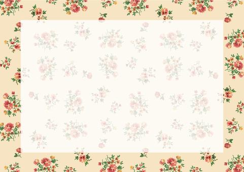 복고풍 꽃 2