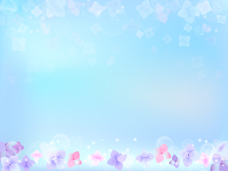 Hydrangea's background 8