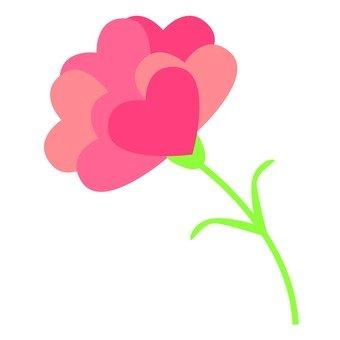 Carnation · Heart petal