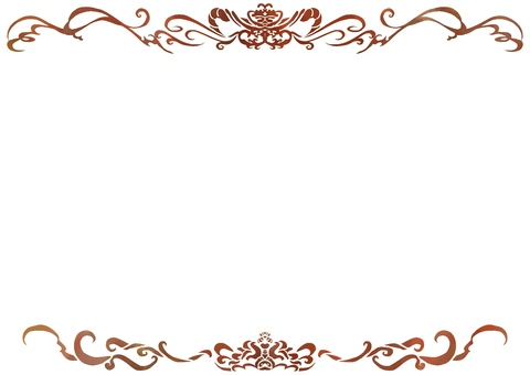 Classic style decorative frame