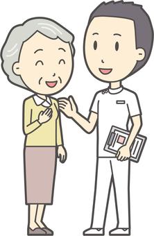 看護師と会話-020-全身
