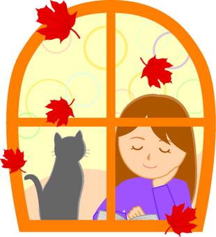 Autumn's night's reading 1