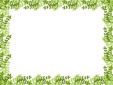 葉子框架(綠色)