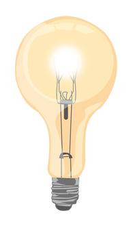 Light bulb-on