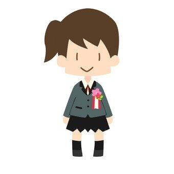 New student (high school girls)