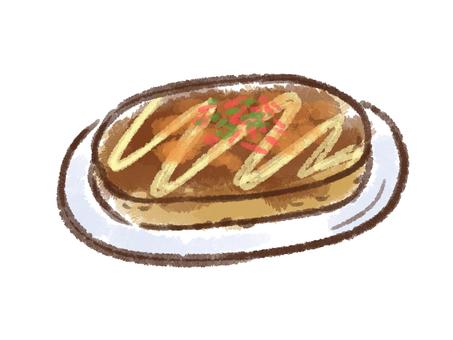 Crayon series [Okonomiyaki]