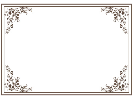 Classic frame frame decorative frame Background decorative frame box