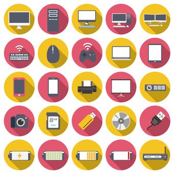 硬件图标集