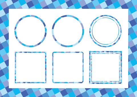 Frame set (cold color)