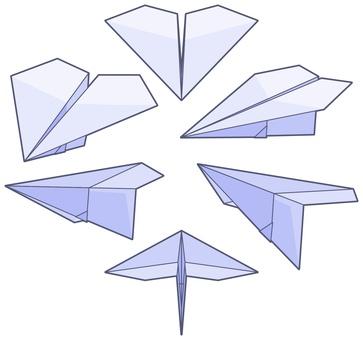 Paper flying machine-001