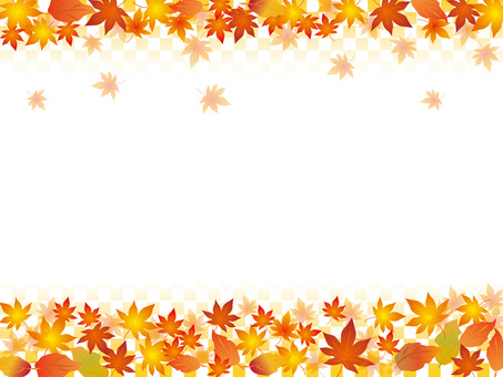 Japanese paper _ autumn leaves pattern _ CS 6