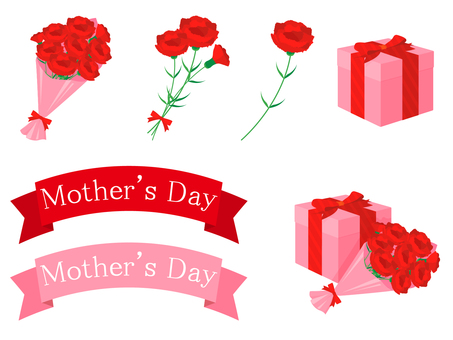 Simple Mother's Day motif
