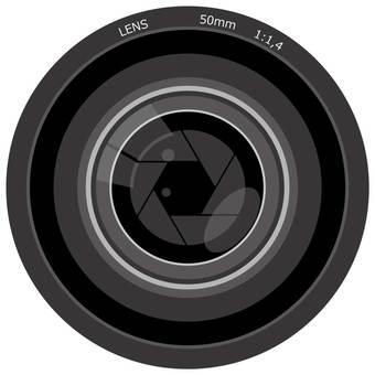 Camera lens · icon