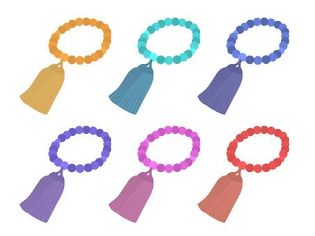 珠的顏色變化