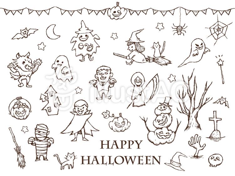 手書き Halloween イラスト , paintschainer