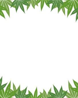 Hemp bamboo frame _ white