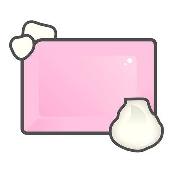 Soap with foam _ Pink