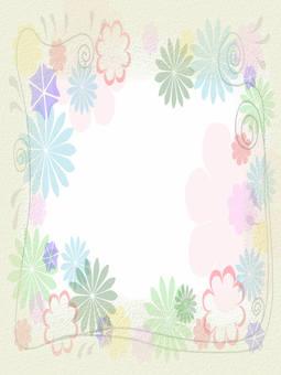 Flower frame vertical length 1