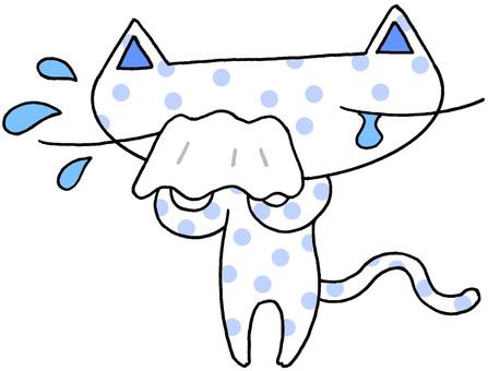 Cat character · sorrow