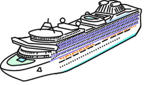Luxury passenger boat