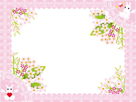 Angel rabbit frame