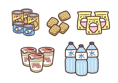 防災グッズ(非常食)