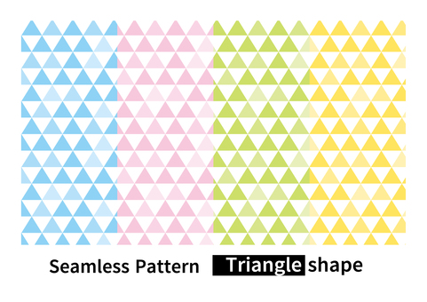 Seamless pattern triangle background