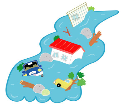 Water damage car