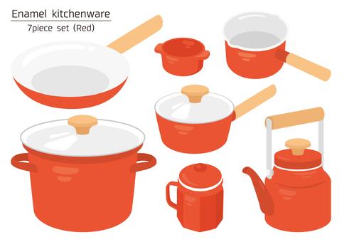 enamel kitchenware