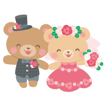 결혼식 곰 4