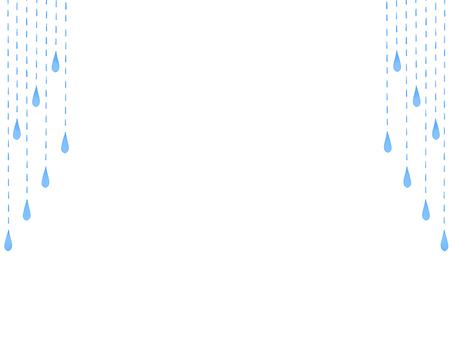 Water drop curtain