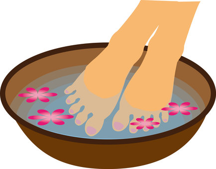 Foot bath ②