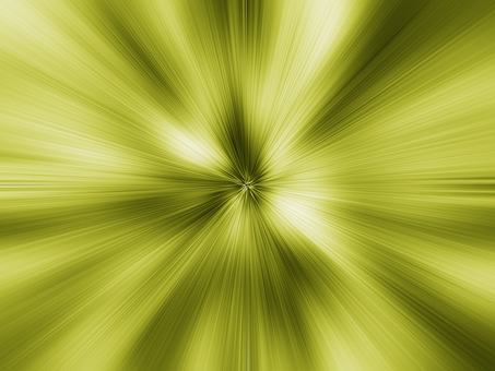Near-future image of yellow light with a sense of speed