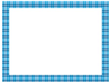 Check frame blue