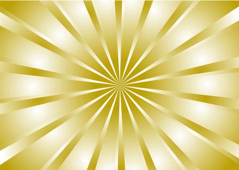 Three dimensional spark gold