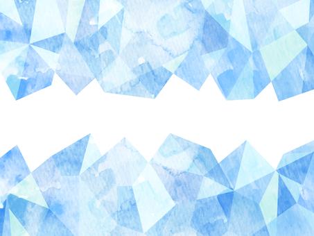 冰水彩風格插畫背景素材
