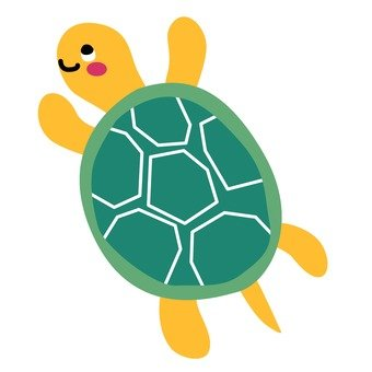 Turtles to swim