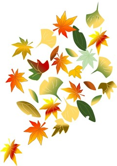 秋天的葉子落葉
