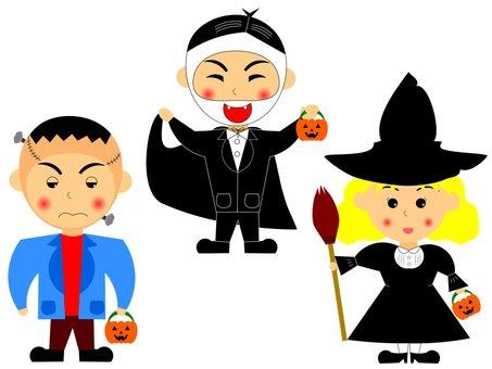 Costume Halloween ♪