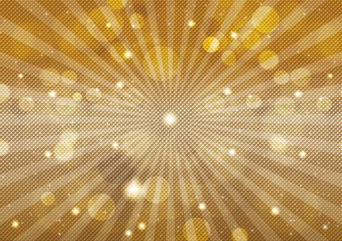 Gold sparkle 44