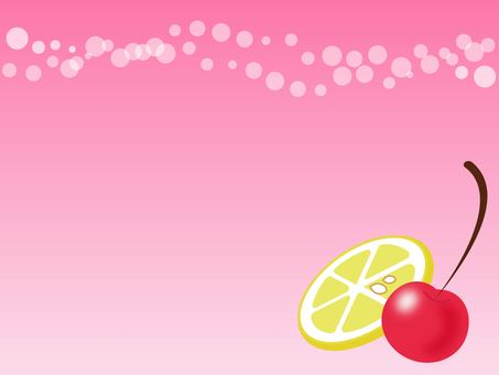 Pink sea of soda