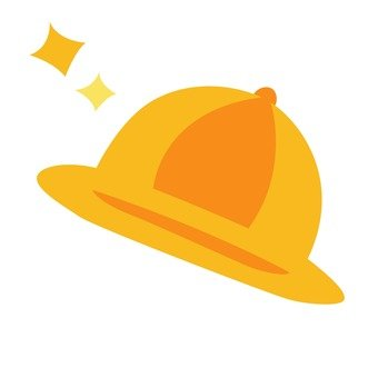 Yellow hat (for girls)