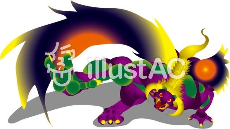 ドラゴンキングイラスト No 470246無料イラストならイラストac