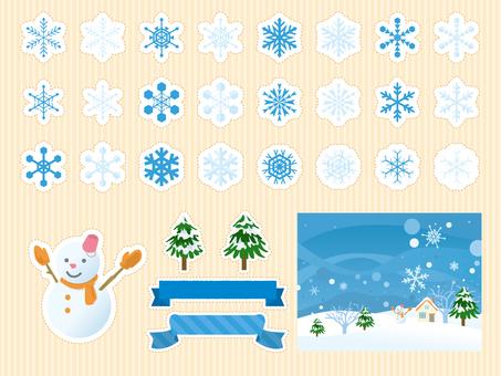 Winter material